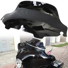 Black ABS windscreen windsheild fit Harley Electra Street Glide Touring 96-13
