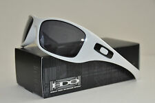 "NEW Oakley Hijinx Polished White w/ Grey Lens MPH 42-473 (black ""O"" icon)"