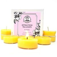 Attraction Soy Tea Lights Love Money Prosperity Abundance Wiccan Pagan Hoodoo