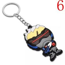 Overwatch Soldier 76 Rubber Keychain 2.5 Inches US Seller