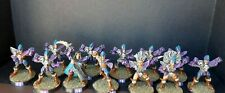 Blood Bowl Dark elves team 3rd edition 1994 (painted)