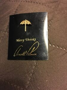 ARNOLD PALMER BAY HILL EXECUTIVE BOARD MEMBERS PIN  ( GOLD ) THE RAREST OF ALL