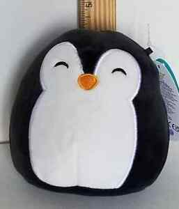 "Squishmallow 5"" Luna Penguin 🐧Sleepy Eyes Soft Plush BNWT FREE SHIP"