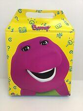 Barney The Dinosaur Storytime Cassettes Booklets Case