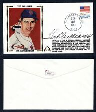 JSA LOA Ted Williams Autographed Signed GS Gateway Silk Cachet Red Sox TRB 417