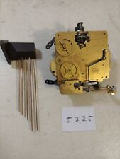 VINTAGE W HAID WESTMINSTER CHIMES  MANTLE CLOCK MOVEMENT & CHIME BAR