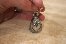 New listing New Guardian® Bell Spiritual Protection Bell w/Irish Claddagh Pewter Key Ring