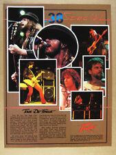 1984 38 Special '84 Tour photos Peavey Amps Gear vintage print Ad