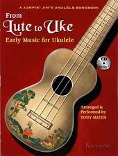 Da LIUTO alla musica UKE in anticipo per Ukulele Scheda LIBRO & CD