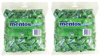 Bulk Mentos Spearmint Green 1.08kg Pillow Pack 400 Soft Chews Candy Buffet