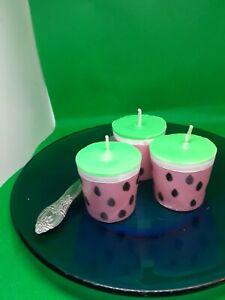 Watermelon Votive Candles