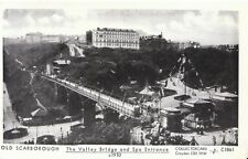 Yorkshire Postcard - Old Scarborough - The Valley Bridge c1910 - Ref 9391