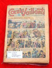 Coeurs Vaillants Année 1954. Complet lot des n°1 à 52