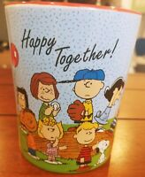 Peanuts Gang Happy Together Mug Charlie Brown Snoopy Woodstock NEW with tag