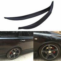 2X Carbon Fiber Car Fender Flare Wheel Eyebrow Protector Wheel Arch Trim StripX