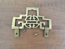 """New listing 3 5/8"""" Chinese Decorative Brass Picture Frame Hanger"""