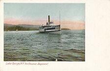 LAKE GEORGE NY – The Steamer Sagamore – Adirondack Mountains – udb