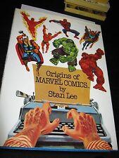 Fireside/Marvel Comic HB Origins Of Marvel Comics Strict NM Unread 1974 Stan Lee