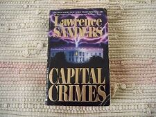 Capital Crimes by Lawrence Sanders (1990, Paperback)