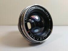 Carl Zeiss JENA 50mm f/2 Sonnar 5cm