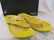 """Womens Kenneth Cole Reaction """"Water Park"""" Sandals Yellow Sz10 M"""