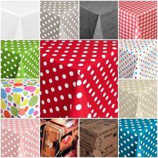 Tischdecke Wachstuchtischdecke Gartentischdecke abwaschbar verschiedene Motive