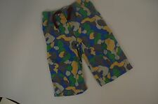 Mini Boden Boys 7 Y Camo Print Board Shorts with elastic Drawstring Waist