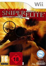 Nintendo wii jeu sniper elite NOUVEAU & OVP envoi de colis
