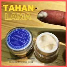 2x 100% Gambir Sarawak Cream Help Ejaculation Premature For Men's Enhancement 5g