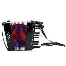 8-Bass Kinder Akkordeon 17 Noten Schifferklavier Ziehharmonika Quetsche X8M3
