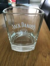 NEW JACK DANIELS OLD NO 7 HEAVY WHISKY GLASS