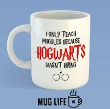 Teachers I Only Teach Muggles Hogwarts Harry Potter Novelty Mug Gift