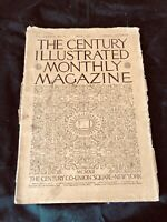 The Century Illustrated Magazine MAY 1912 Old Antique Civil War Settlers