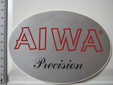 Aufkleber Sticker AIWA Precision - Audio - Walkman - CD Player Portable (S1151)
