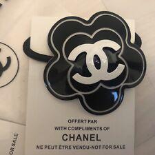 Chanel edle Kamelie Haargummi Haarschmuck VIP Geschenk verpackt Neu mit Stempel