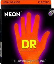 DR Handmade NOE7-11 Neon ORANGE Electric Guitar Strings 11-60 heavy 7-String set