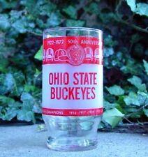 Ohio State OSU Buckeye Football 50th Anniversary of Ohio Stadium Glass - 1920