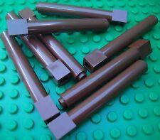 Lego Brown Round Columns x8 Castle Kingdoms City Star Wars