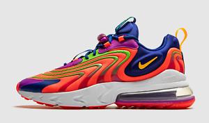 Nike Air Max 270 React Eng Laser Crimson Laser Orange CD0113-600 Men Sneaker Gym