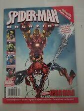 SPIDER-MAN MAGAZINE: GREAT POWER 2007 CUT-OUT CARDS! VENOM! IRON MAN! PIN-UPS!