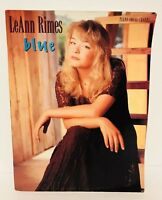LEANN RIMES BLUE PIANO VOCAL CHORDS MUSIC BOOK COUNTRY SIGNATURE