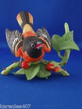 Baltimore Oriole Lenox Garden Bird Collection Excellent Condition