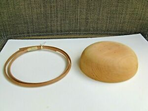 """4 1/2"""" Saucer Mold with 1 Set of Cherry Rims (Inner & Outer)  Shaker Style"""