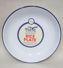 "Falcon Enamel Rice / Pasta Plate Traditional White - 24 x 4cm / 9.4"" x 1.5"""
