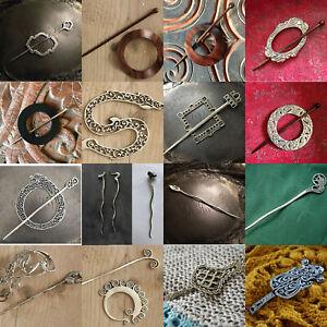 JUL DESIGNS SHAWL PINS AND SHAWL STICKS - VARIOUS DESIGNS