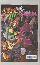 UDON COMICS STREET FIGHTER VS DARKSTALKERS #1 MAY 2017 VARIANT A 1ST PRINT NM