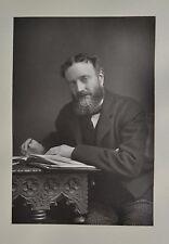 Fine 1890 Cabinet Card Portrait Photo Michael Hicks Beach Politician W&D Downey