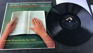 GEORGE BEVERLY SHEA-AN EVENING PRAYER LP RECORD