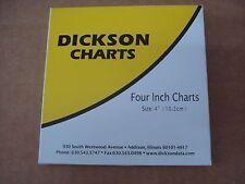 "C203 DICKSON RECORDING CHARTS 4"" OEM"