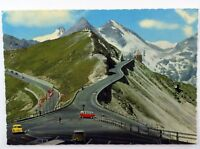 Vintage Grobglockner Hochalpenstrabe Salzburg Mountains Postcard Souvenir Card